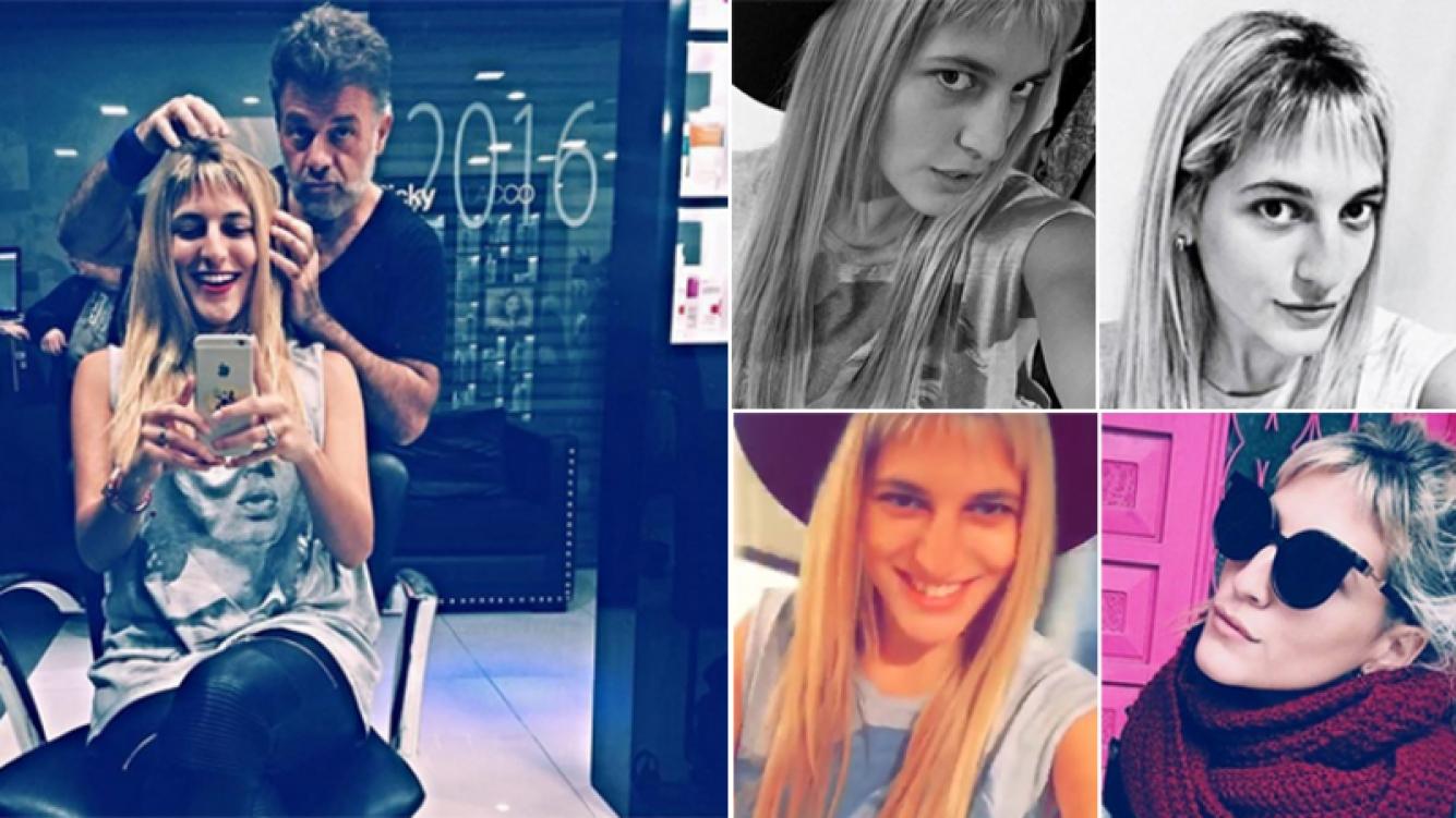 Marian Farjat se cambió el look. Fotos: Instagram.