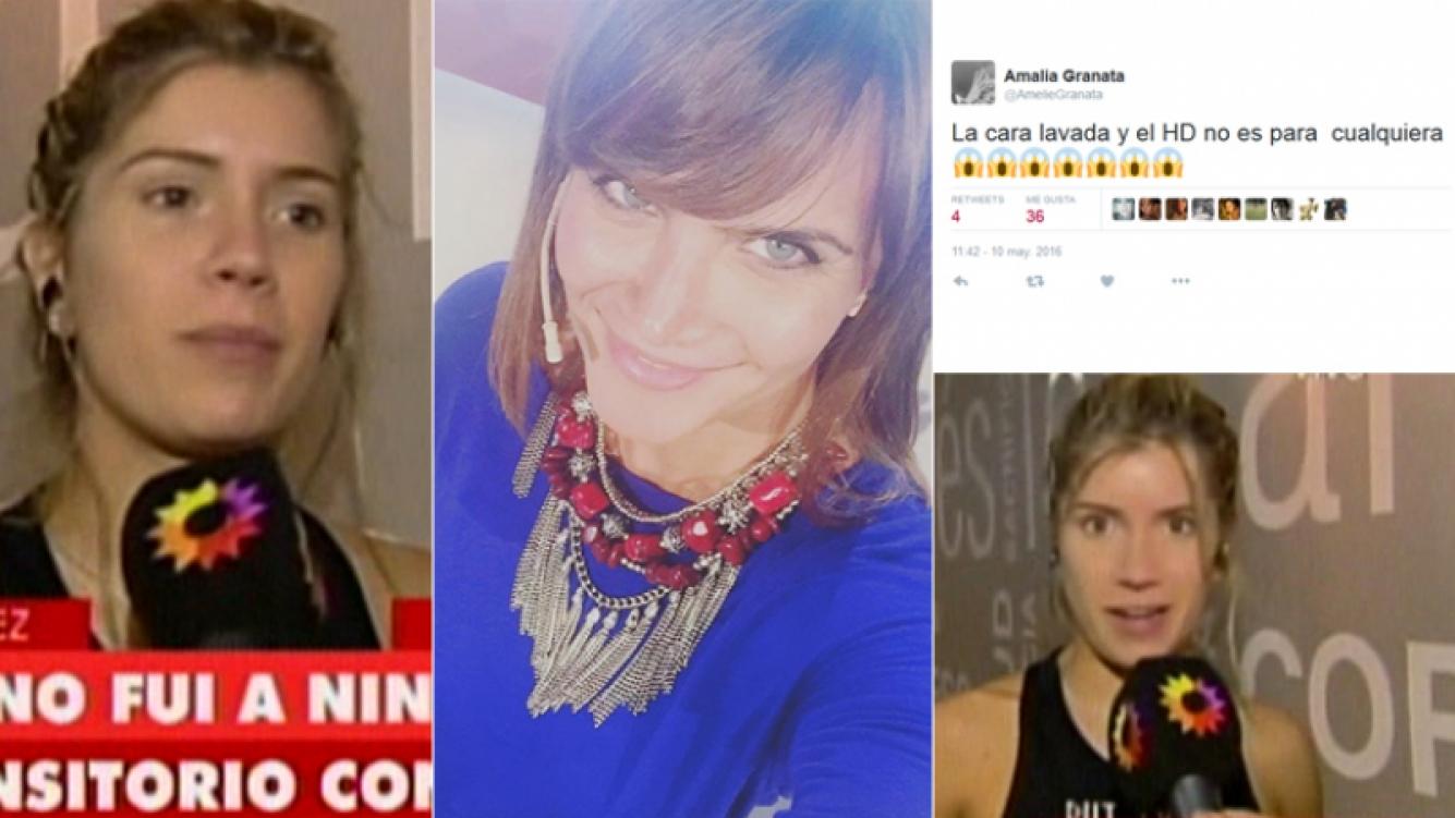 El picante tweet de Granata mientras Laurita estaba en TV (Foto: Instagram y Web)