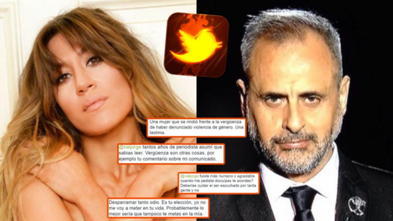 Jimena Barón y Jorge Rial, enfrentados en Twitter  (Fotos: Web).