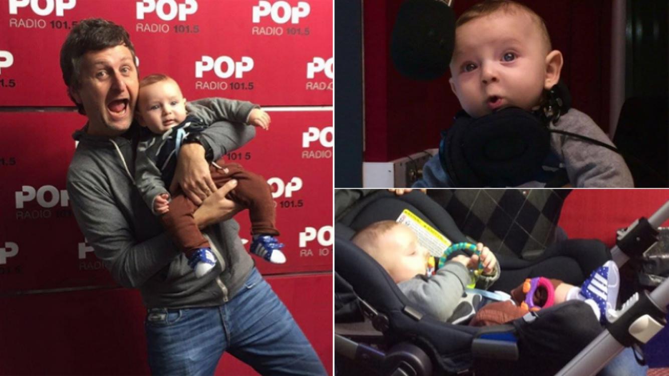 Diego Korol presentó en sociedad a su hijo, José (Foto: Twitter)