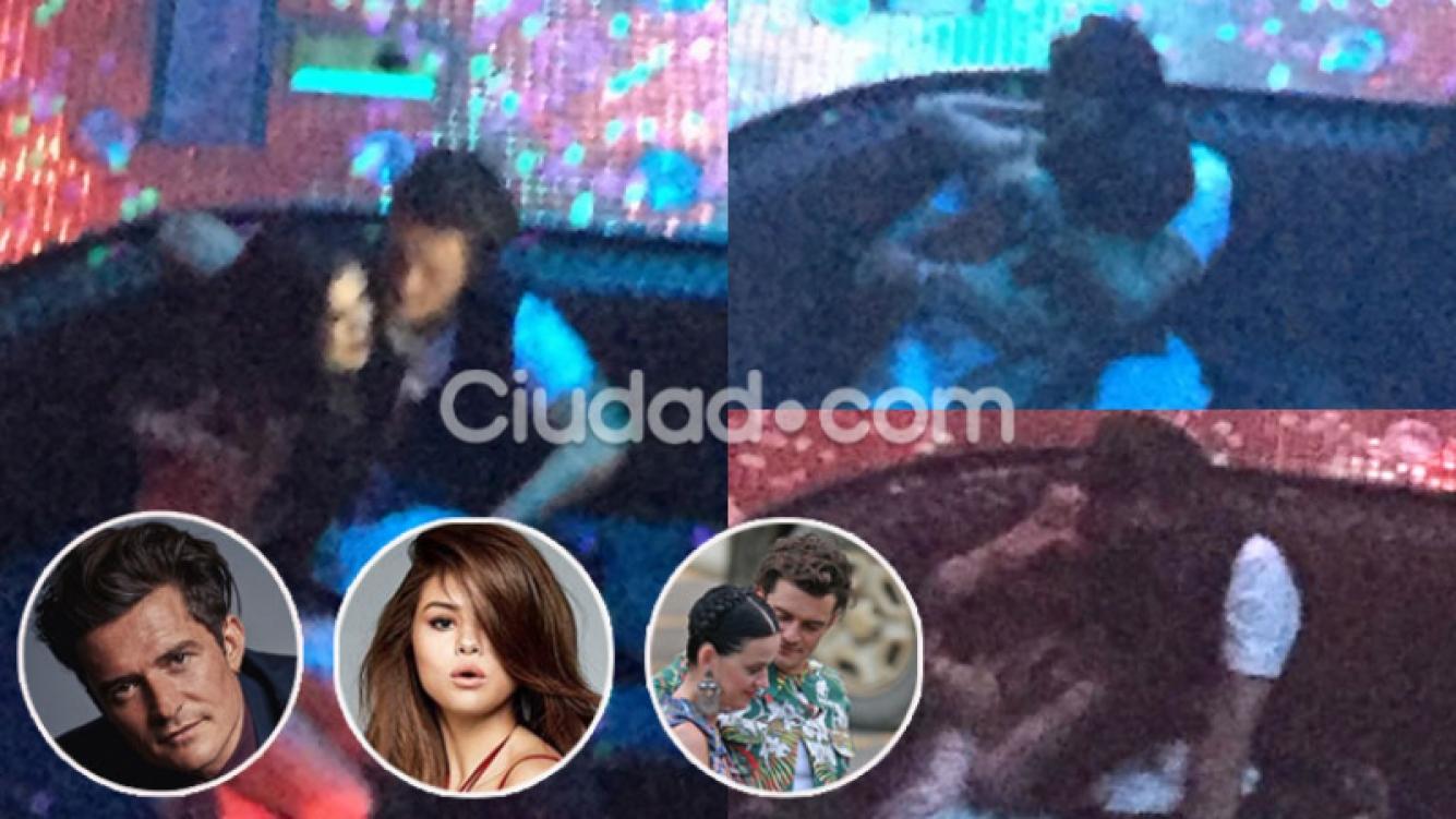 Orlando Bloom y Selena Gomez, juntos en Las Vegas (Fotos: GrosbyGroup).