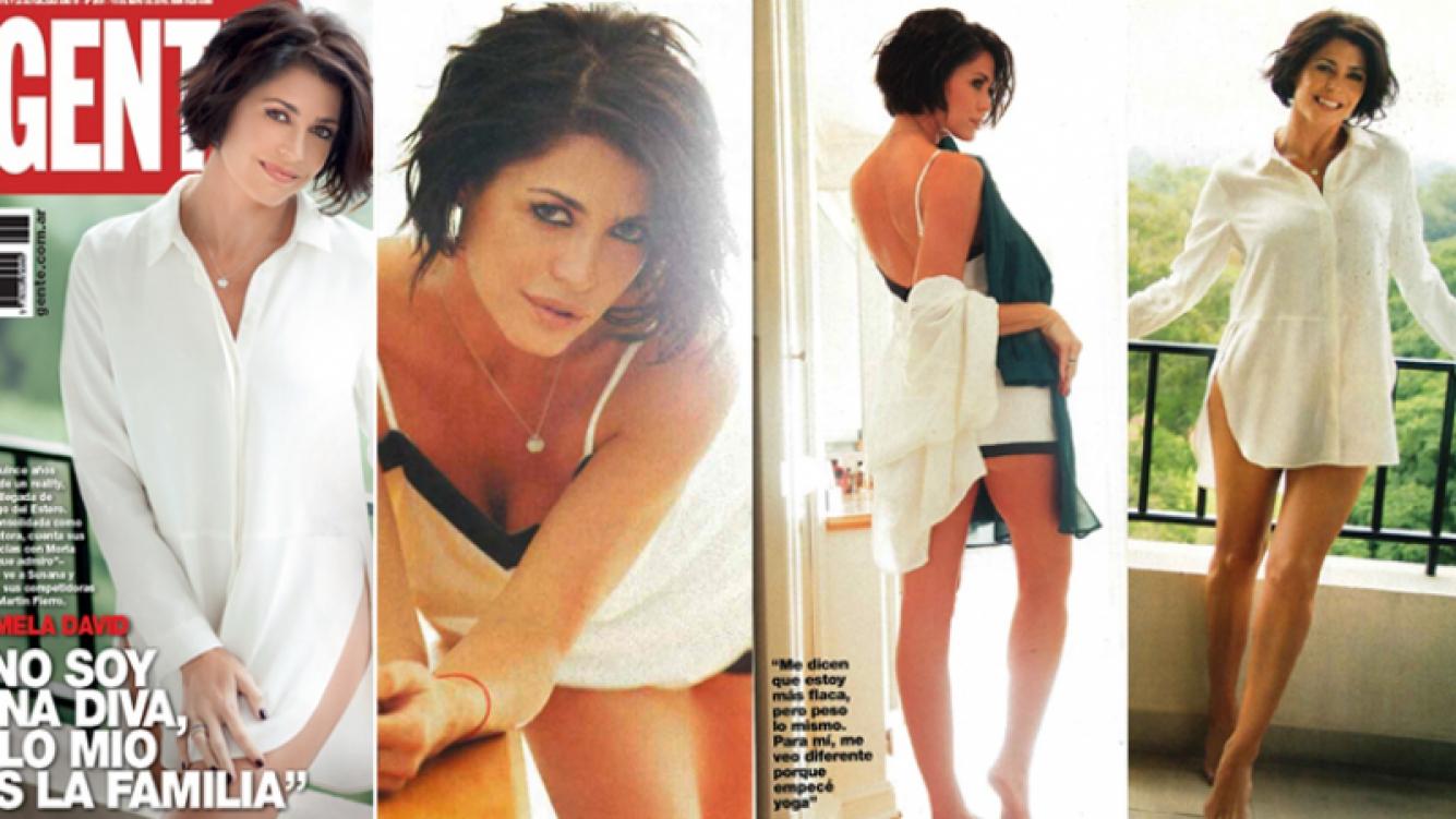 Pamela David, producción sexy y confesiones íntimas (Foto: revista Gente)