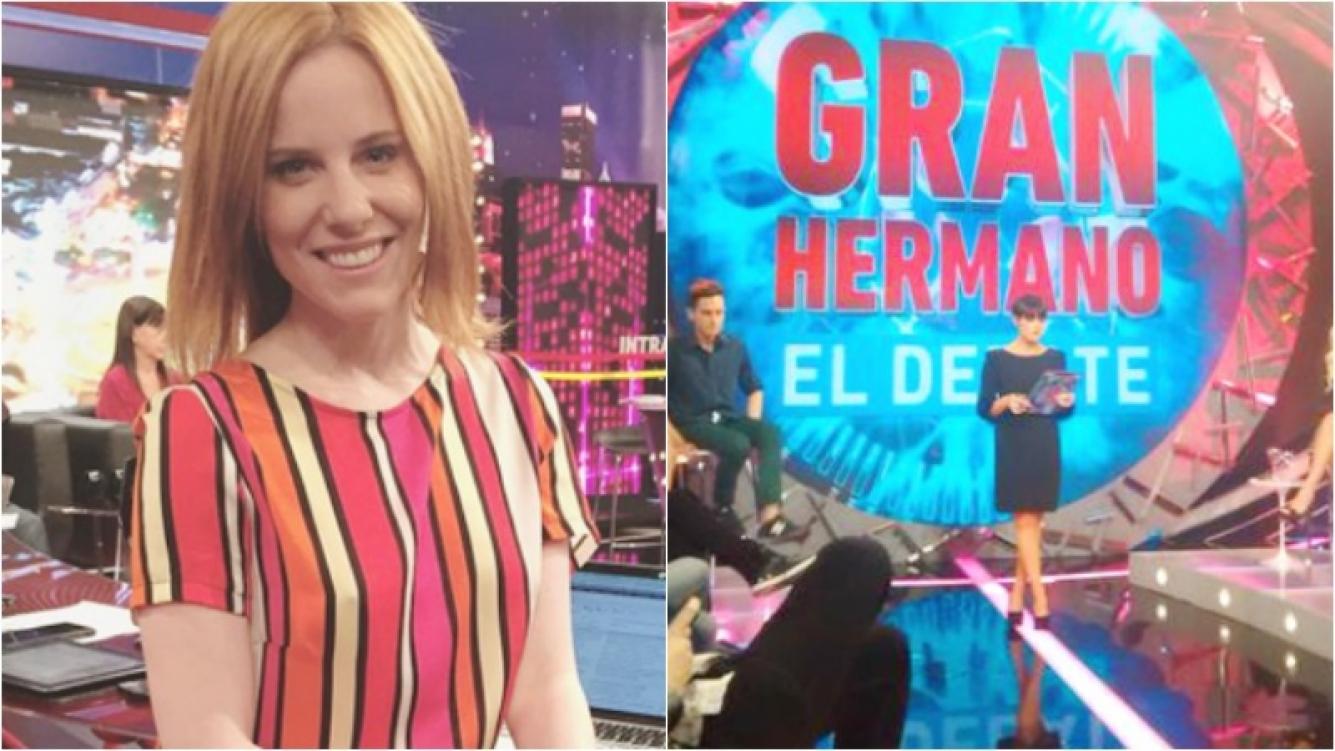 Agustina Kämpfer se suma a El debate de Gran Hermano 2016. Foto: Web