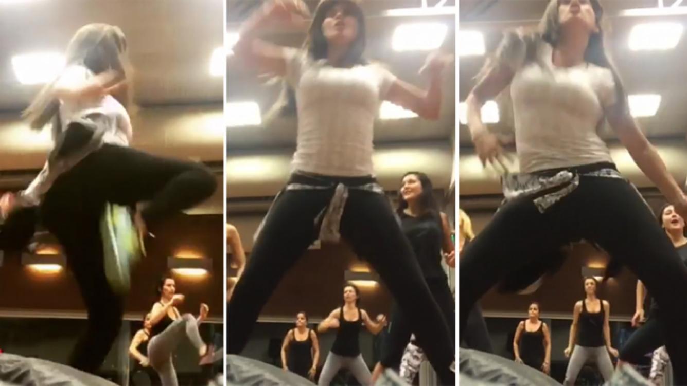El baile súper enérgico y sexy de Loly Antoniale (Foto: Instagram)