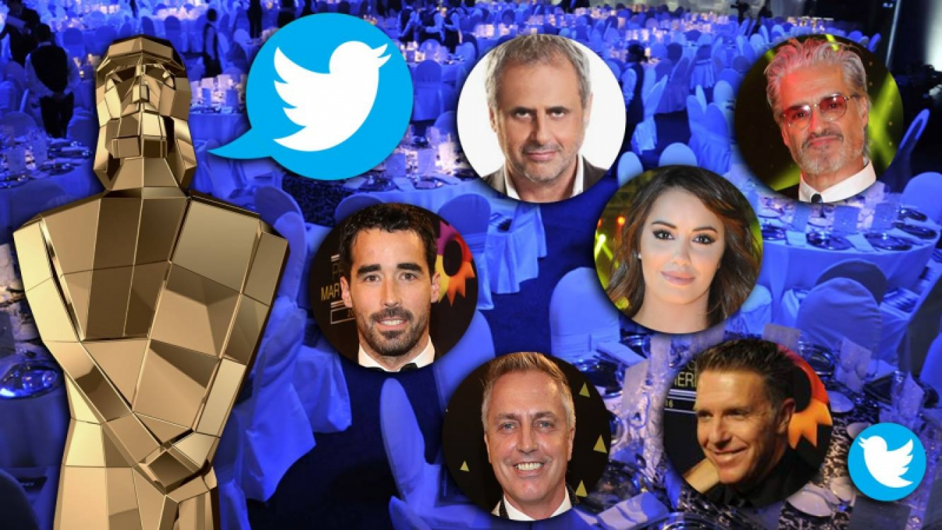 """Los tweets de los famosos en los Martín Fierro 2016: fotos, """"palitos"""" y looks. Foto: Web"""