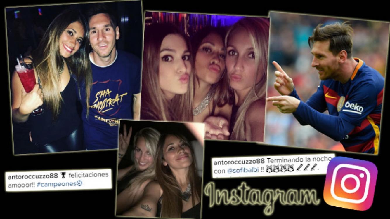 Antonella Roccuzzo, una diosa botinera de festejo junto a Lionel Messi. (Foto: Instagram)