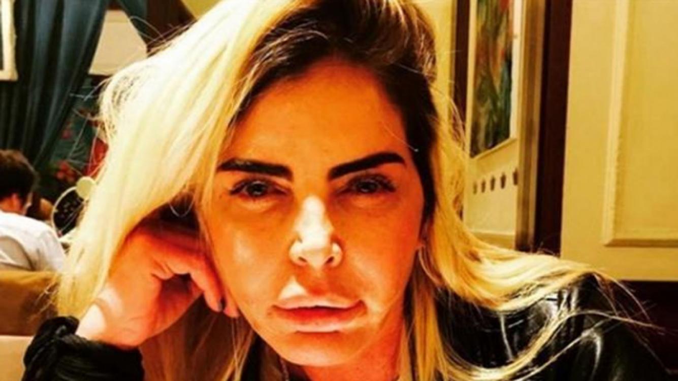 Raquel Mancini, en coma y con respirador artificial (Foto: web)