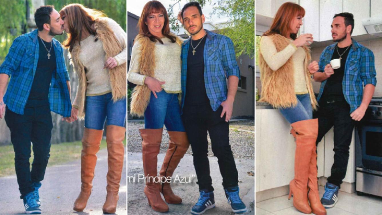 Lizy Tagliani presentó a su nuevo novio y la casa a la que se mudarán (Foto: revista Gente)
