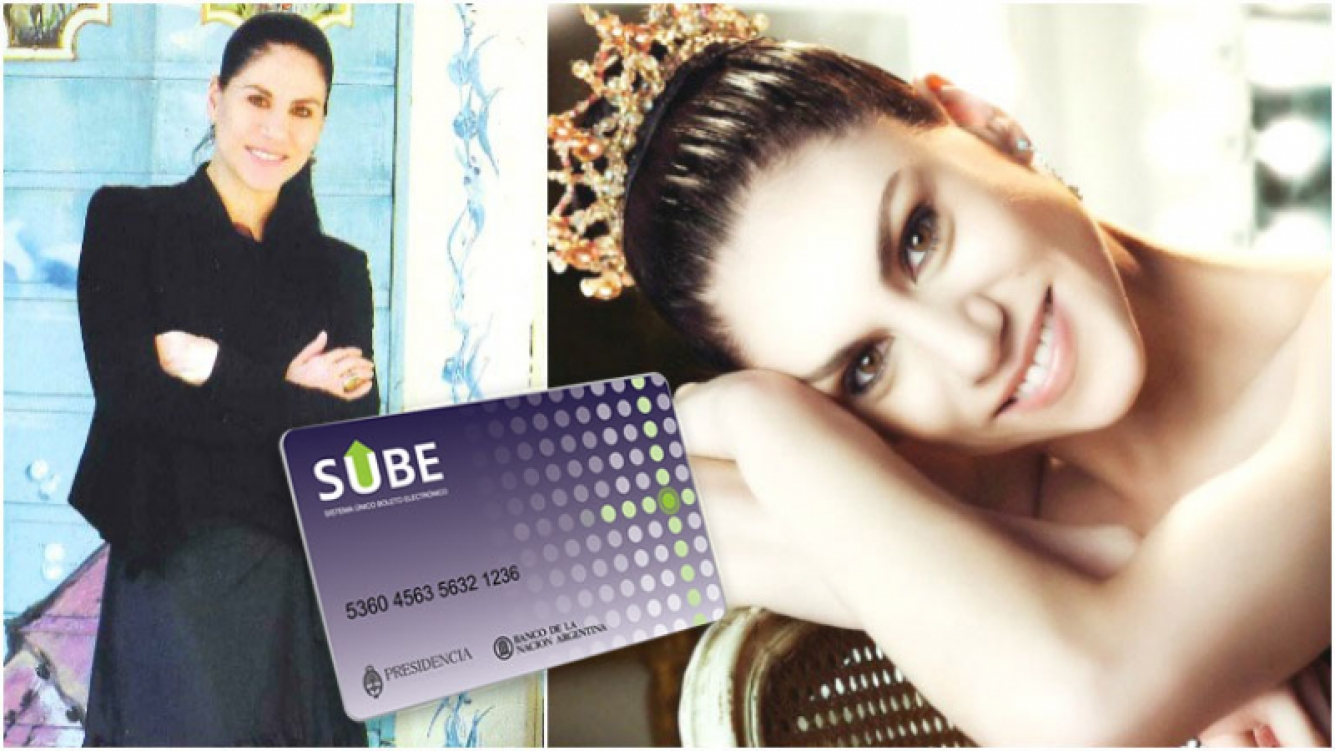 Paloma Herrera reveló tener su tarjeta Sube (Fotos: revista Pronto y Web)