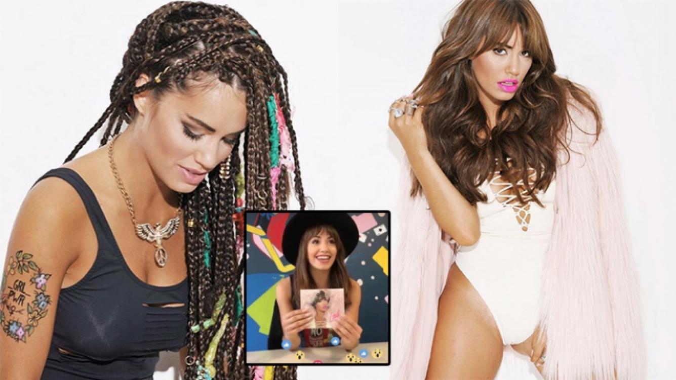 Lali Espósito mostró algunas fotos de Soy, su nuevo disco. Fotos: Instagram.