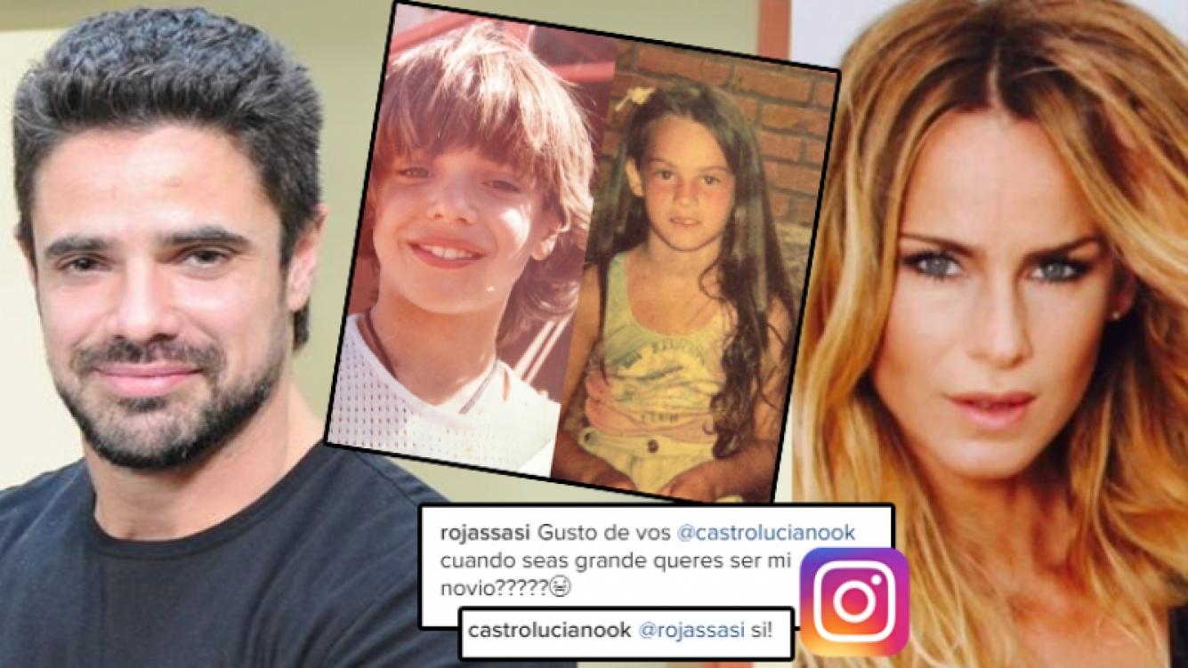 Luciano y Sabrina, enamorados 2.0 (Foto: Instagram)
