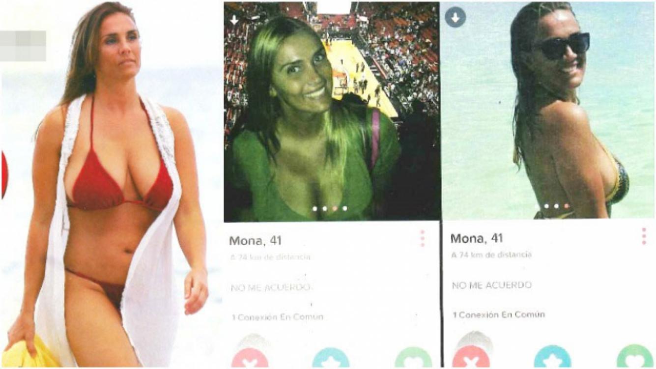La famosa de 41 años que se anima a usar Tinder (Fotos: revista Paparazzi)