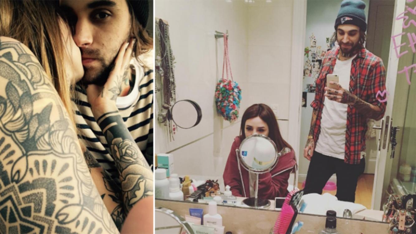 Cande Tinelli y Rodrigo, amor 2.0. Foto: Instagram.
