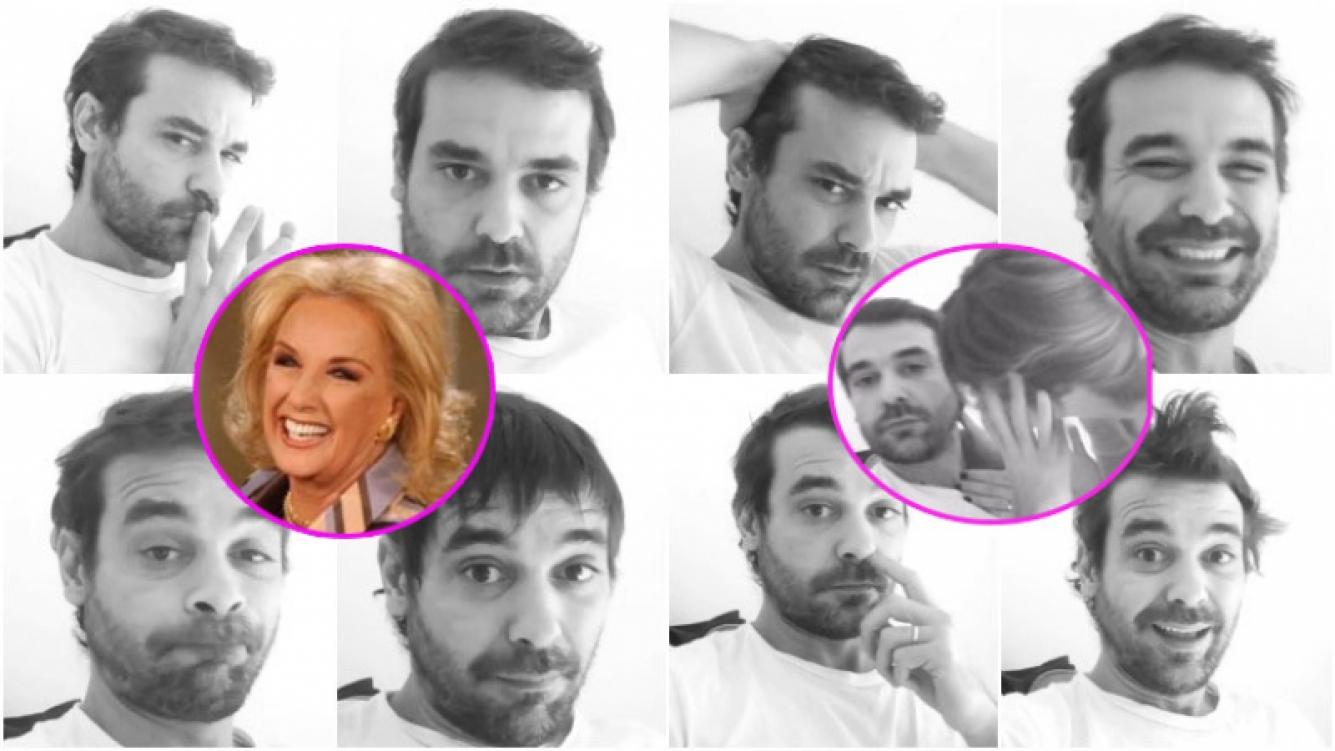 Los ensayos de Pedro Alfonso para su presentación en el programa de Mirtha Legrand (Fotos: Instagram y Web)