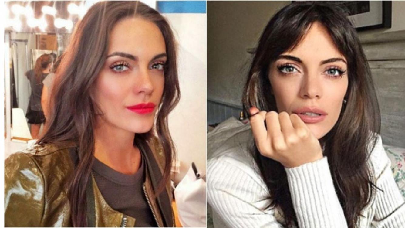 El cambio de look de Emilia Attias: flequillo y melena lacia. Foto: Web