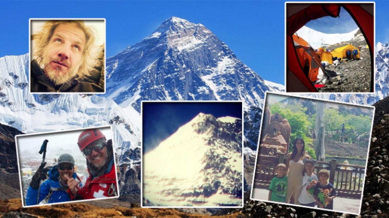 Facundo Arana hizo cumbre en el Everest. (Foto: Web)