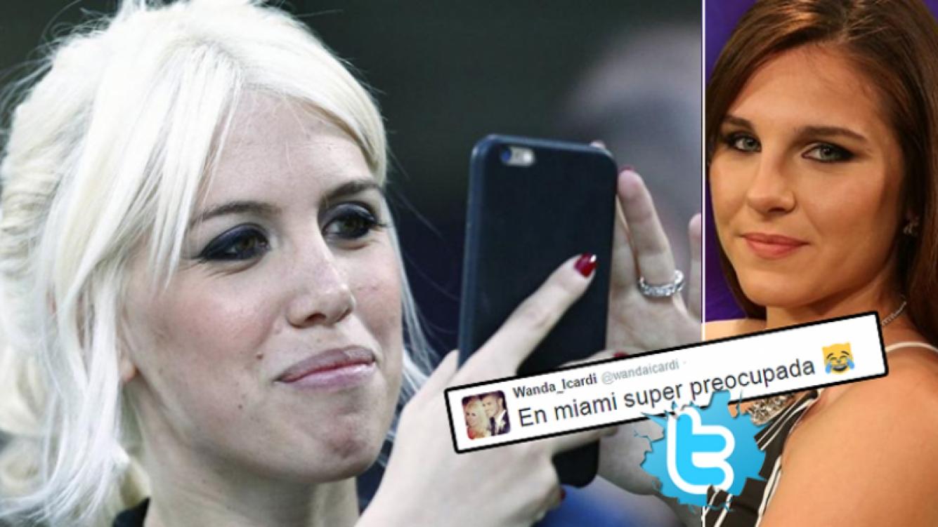 Wanda Nara ¿y un irónico tweet para Ivana Icardi por su incorporación en GH? (Foto: Twitter y web)