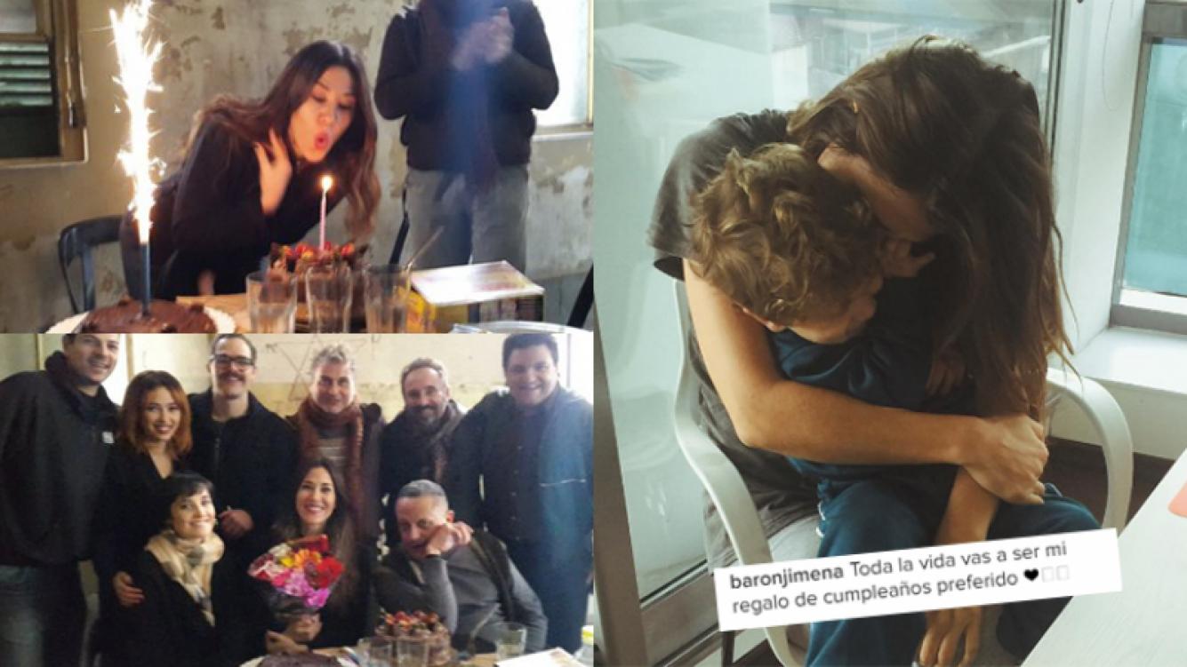 Jimena Barón celebró su cumpleaños (Fotos: Twitter e Instagram).