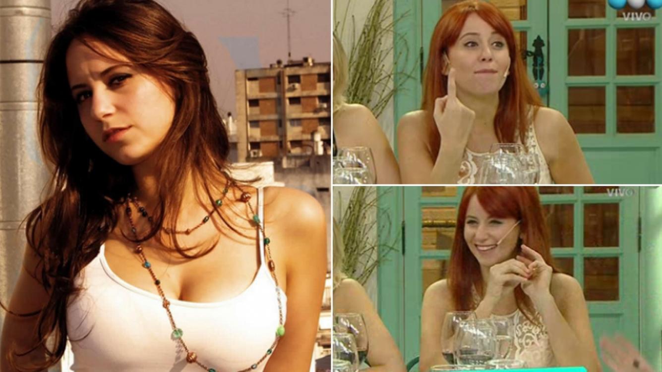 Cayetina se cambió el look y ahora es pelirroja. Fotos: Instagram y capturas de pantalla.