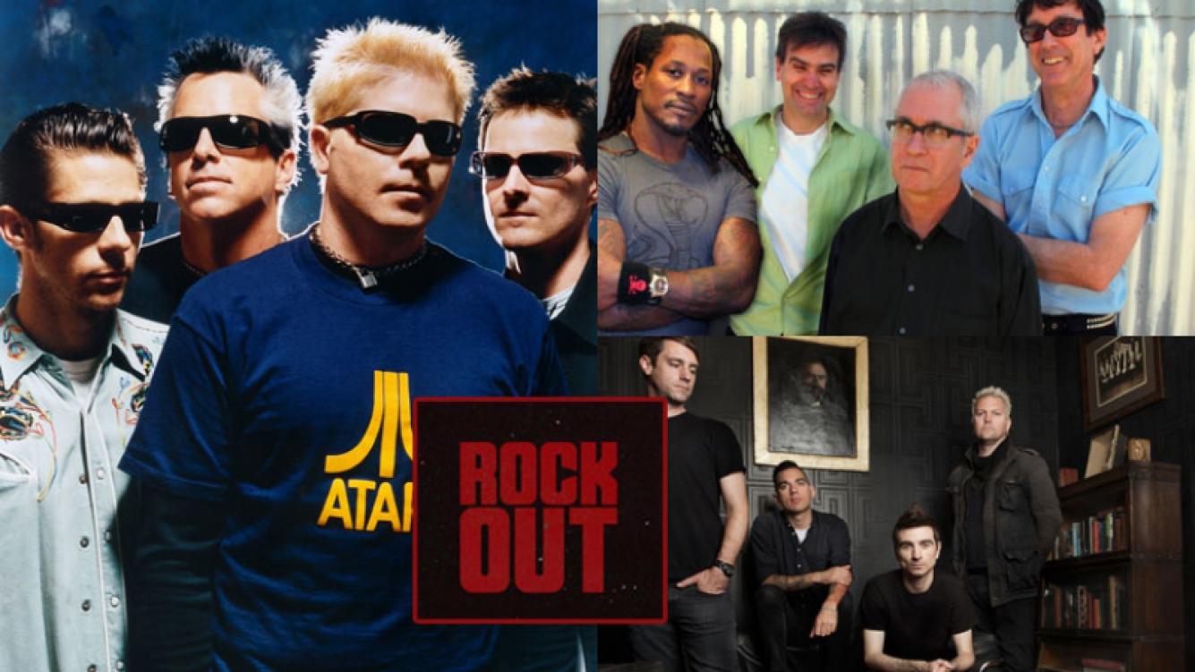 The Offspring, Dead Kennedys, Anti Flag y Lash Out, juntos (Fotos: Web).