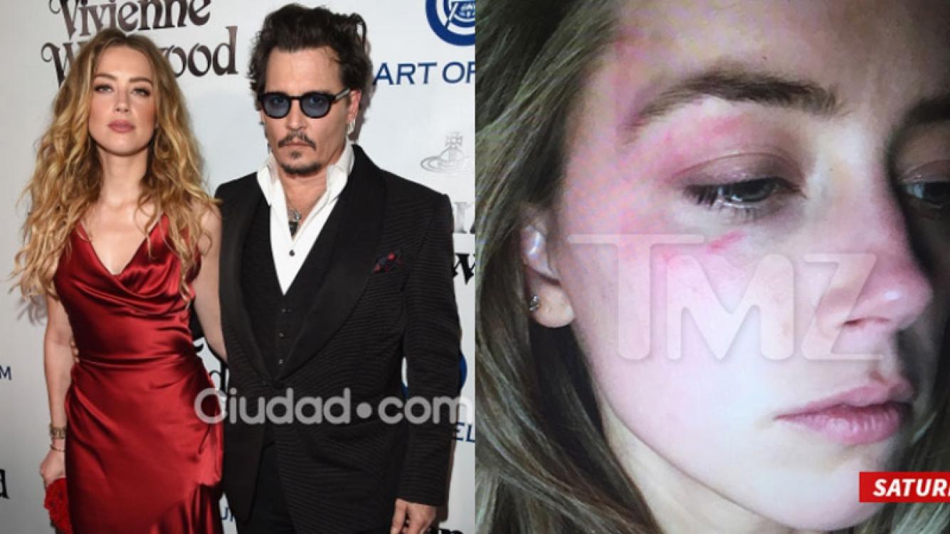 Johnny Depp, acusado de violencia de género (Fotos: AFP y TMZ).