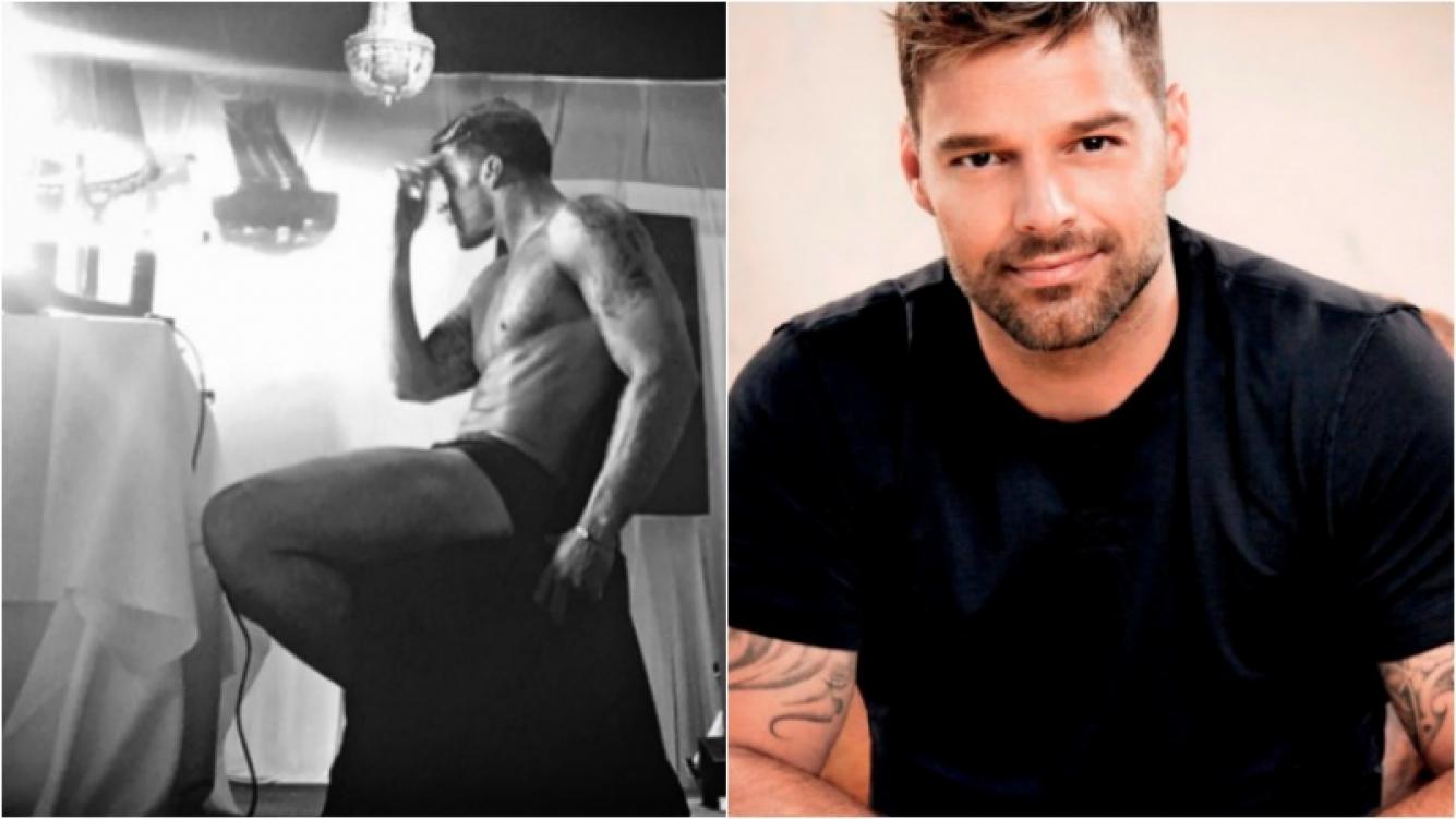 Ricky Martín calentó Instagram con una foto súper sexy. Foto: Instagram