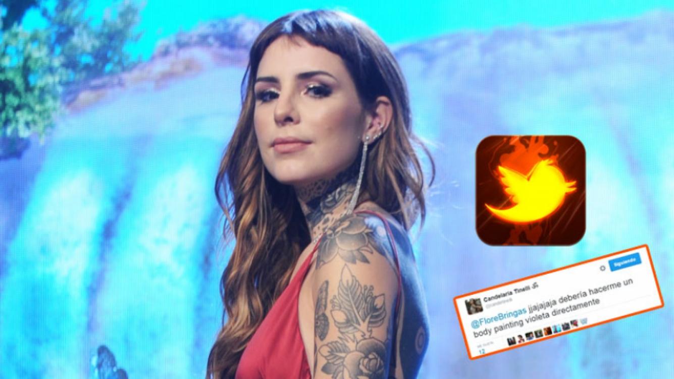 Candelaria Tinelli se toma con humor las críticas (Fotos: Ideas del Sur y Twitter).
