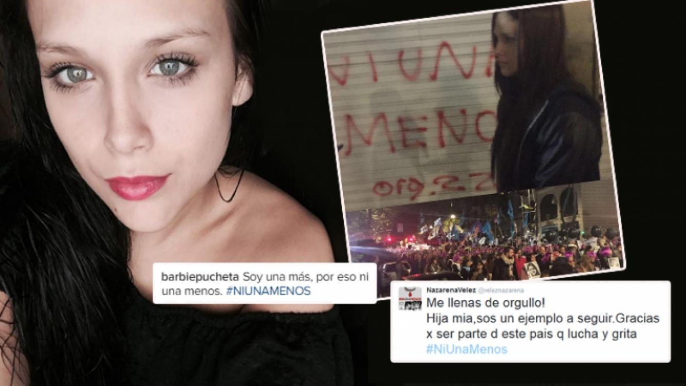 El tweet de Barbie Vélez tras la multitudinaria marcha contra la violencia de género (Foto: Instagram y Twitter)