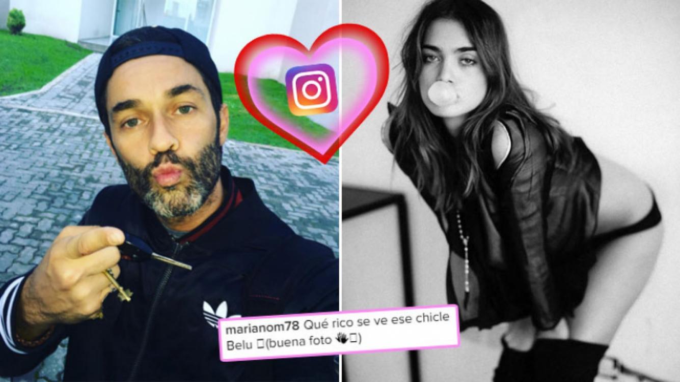 El pícaro comentario de Mariano Martínez en una foto sexy de su ¿amigovia? Foto: Instagram
