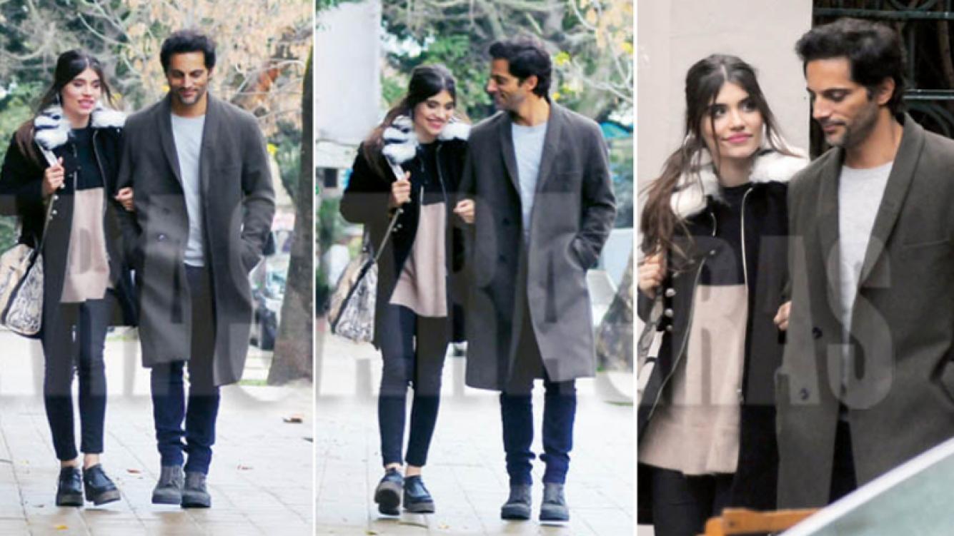 Joaquín Furriel y Eva de Dominici, paseando del brazo y súper enamorados (Fotos: revista Caras)