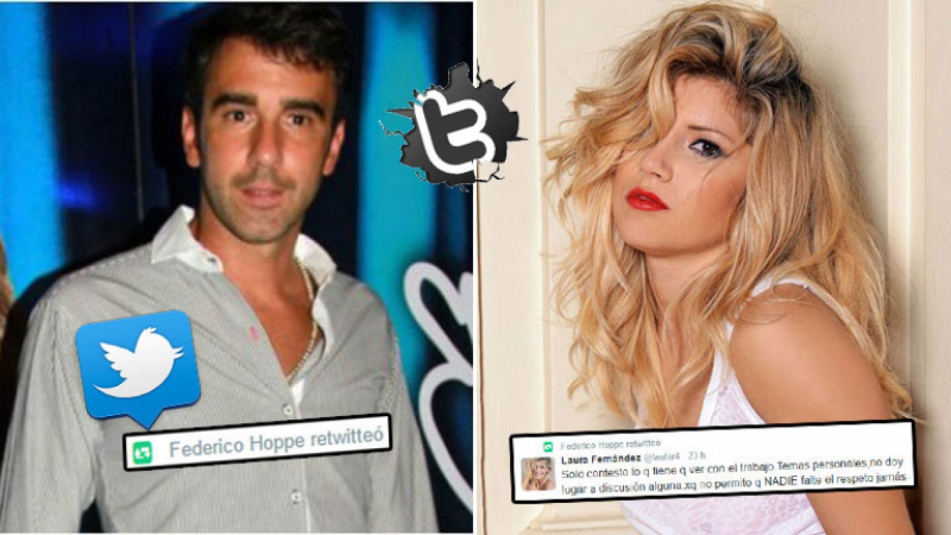 El contundente retweet de Fede Hoppe a Laurita Fernández, en medio de su crisis sentimental. Foto: Web