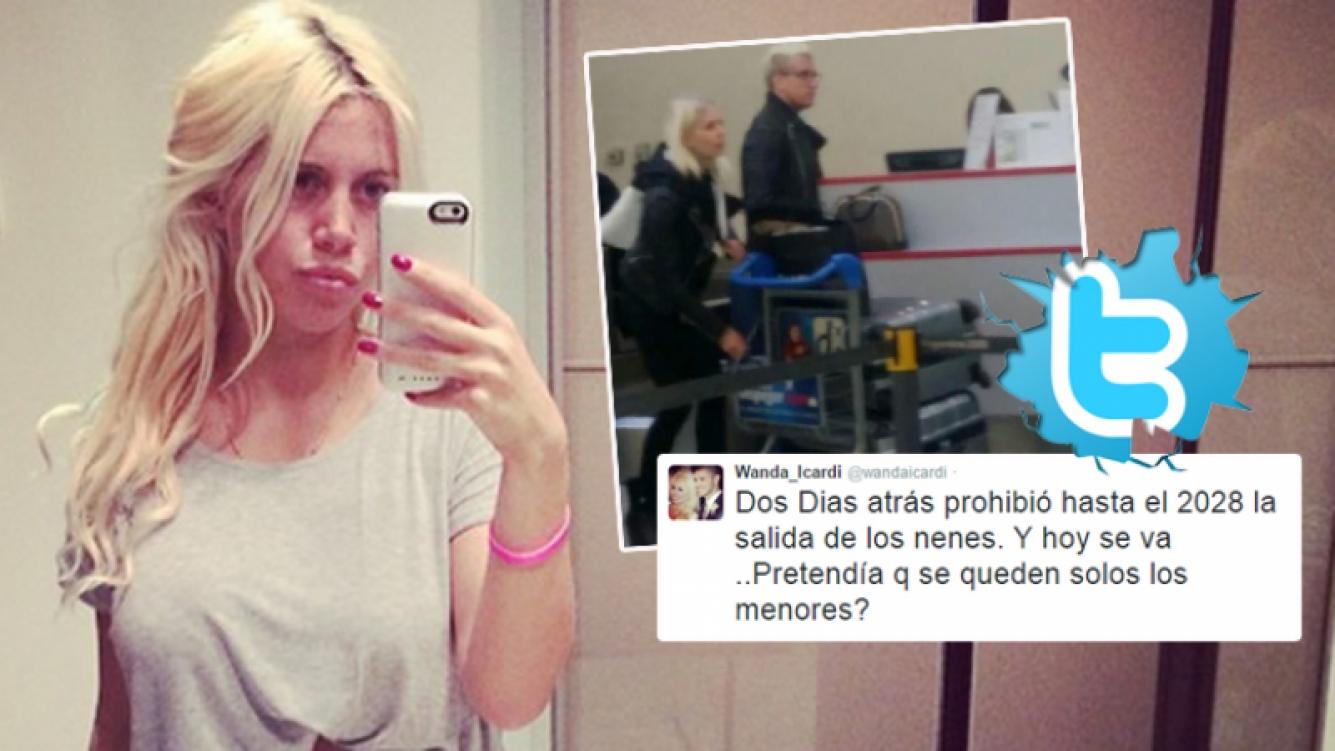 El explosivo tweet de Wanda Nara contra Maxi López (Foto: Twitter)