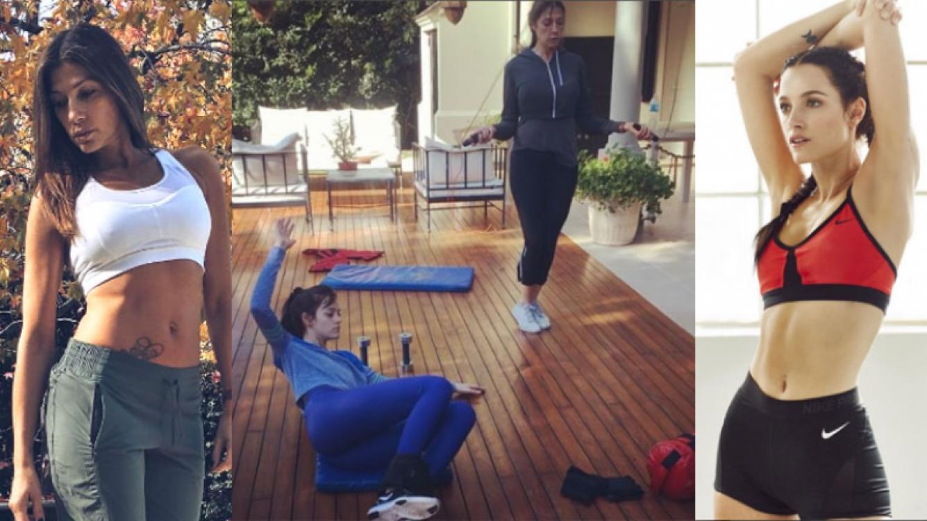 Catherine Fulop y Oriana Sabatini, dos generaciones de diosas (Fotos: Instagram).