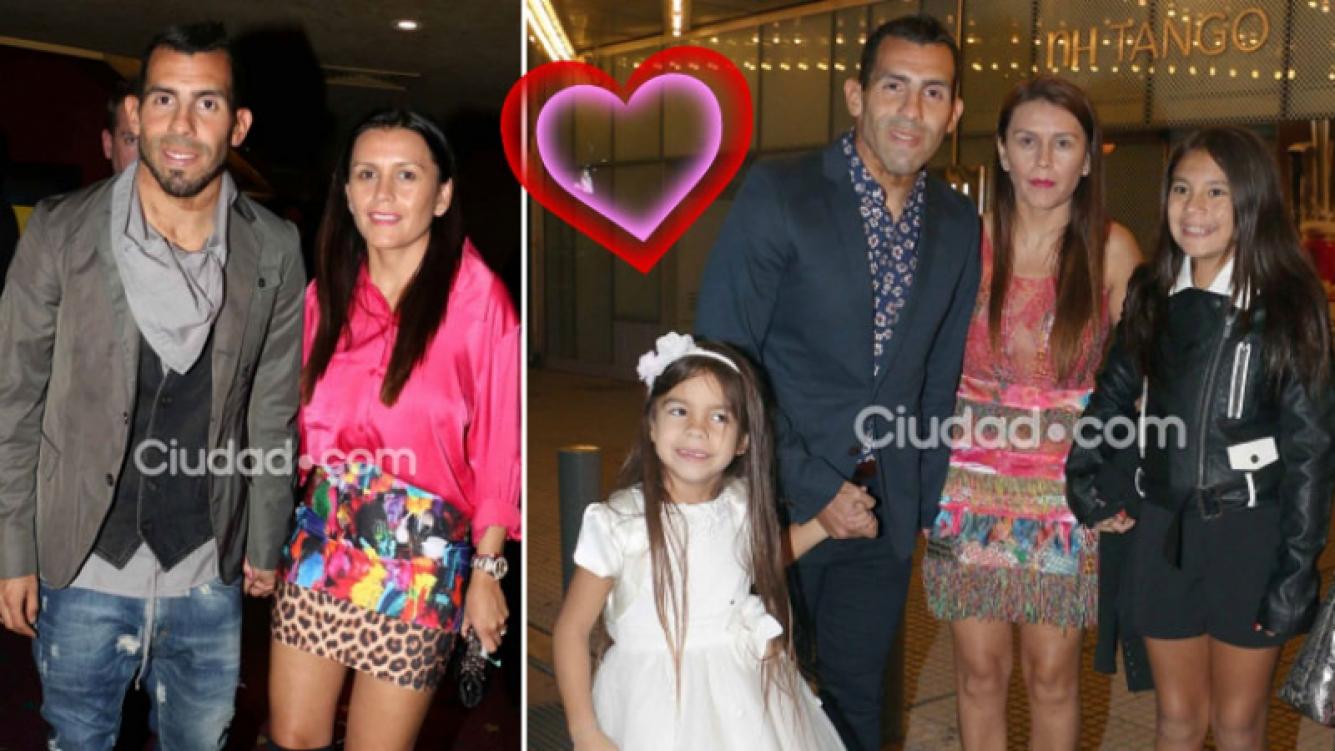 ¡Se vienen los confites! Carlitos Tevez se casa con Vanesa Mansilla. (Foto: Ciudad.com)
