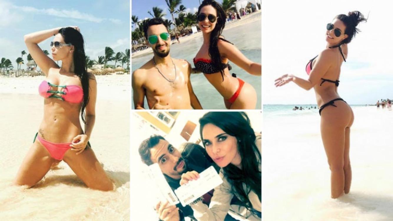 Sabrina Ravelli, diosa soltera en Punta Cana con su amigo Héctor Sotto. (Foto: Instagram)