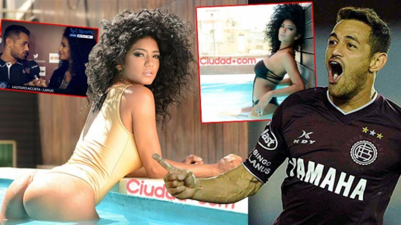 Kate Rodríguez y Lautaro Acosta están saliendo hace dos meses. (Fotos: archivo Ciudad.com y Web)