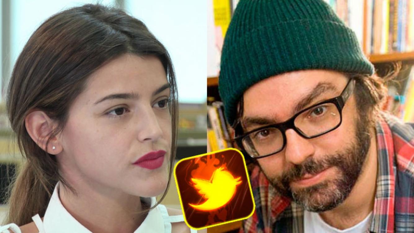 Calu Rivero y Liniers, enfrentados en Twitter (Fotos: Web).