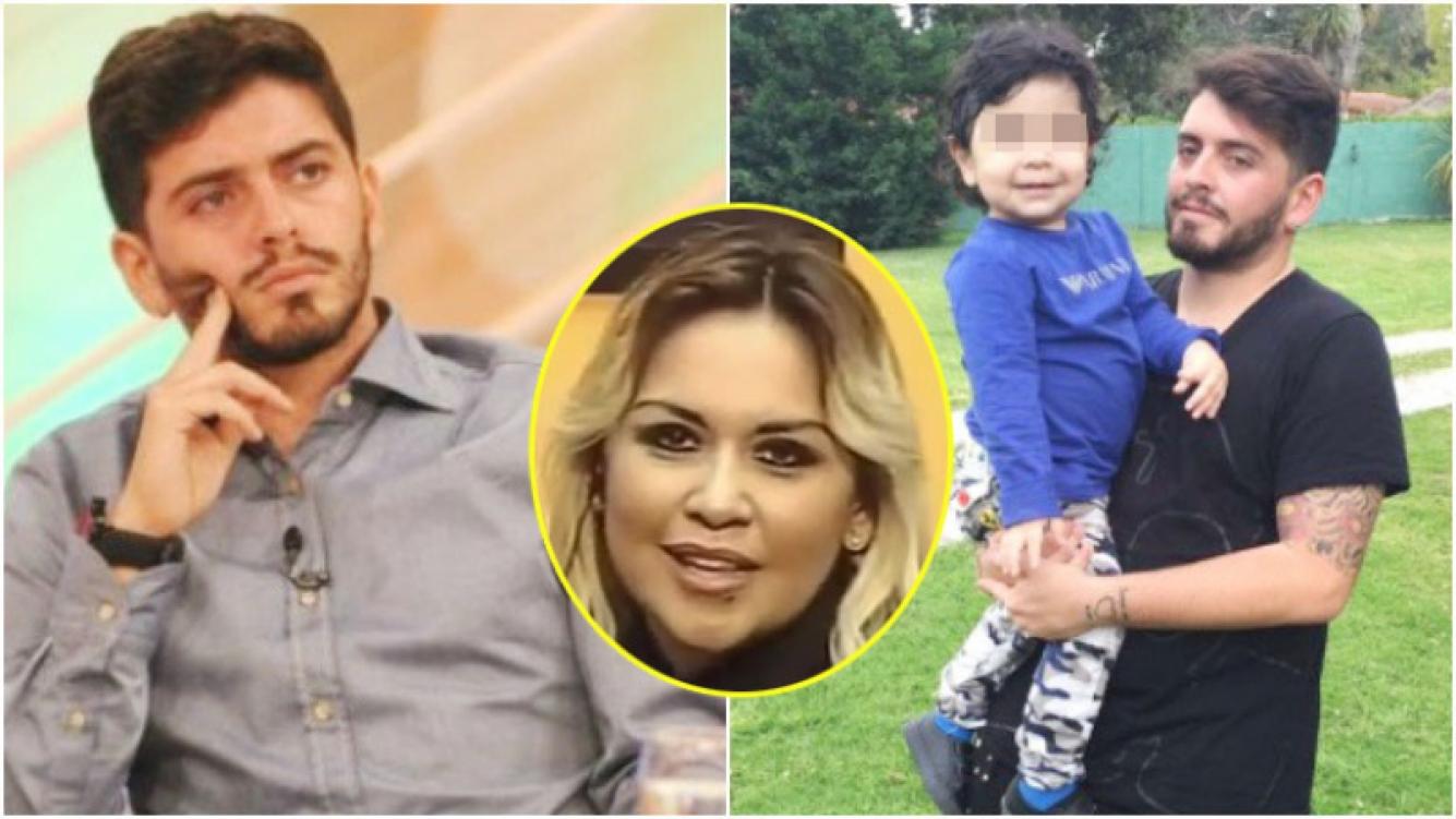 La defensa de Diego Jr, luego de que Verónica Ojeda lo acusara de publicar una foto con su hermanito (Fotos: Web)