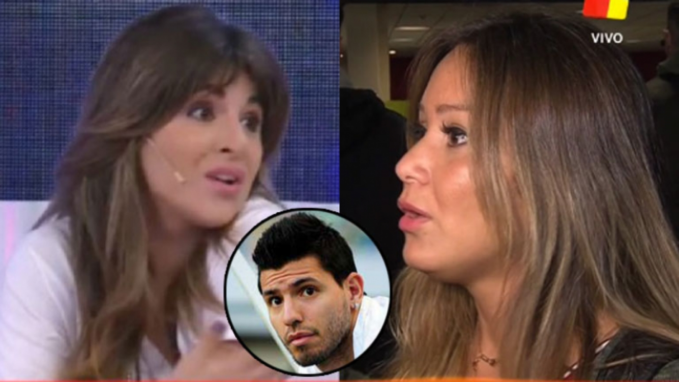 Gianinna Maradona enfrentó a Karina tras sus declaraciones (Fotos: Web).