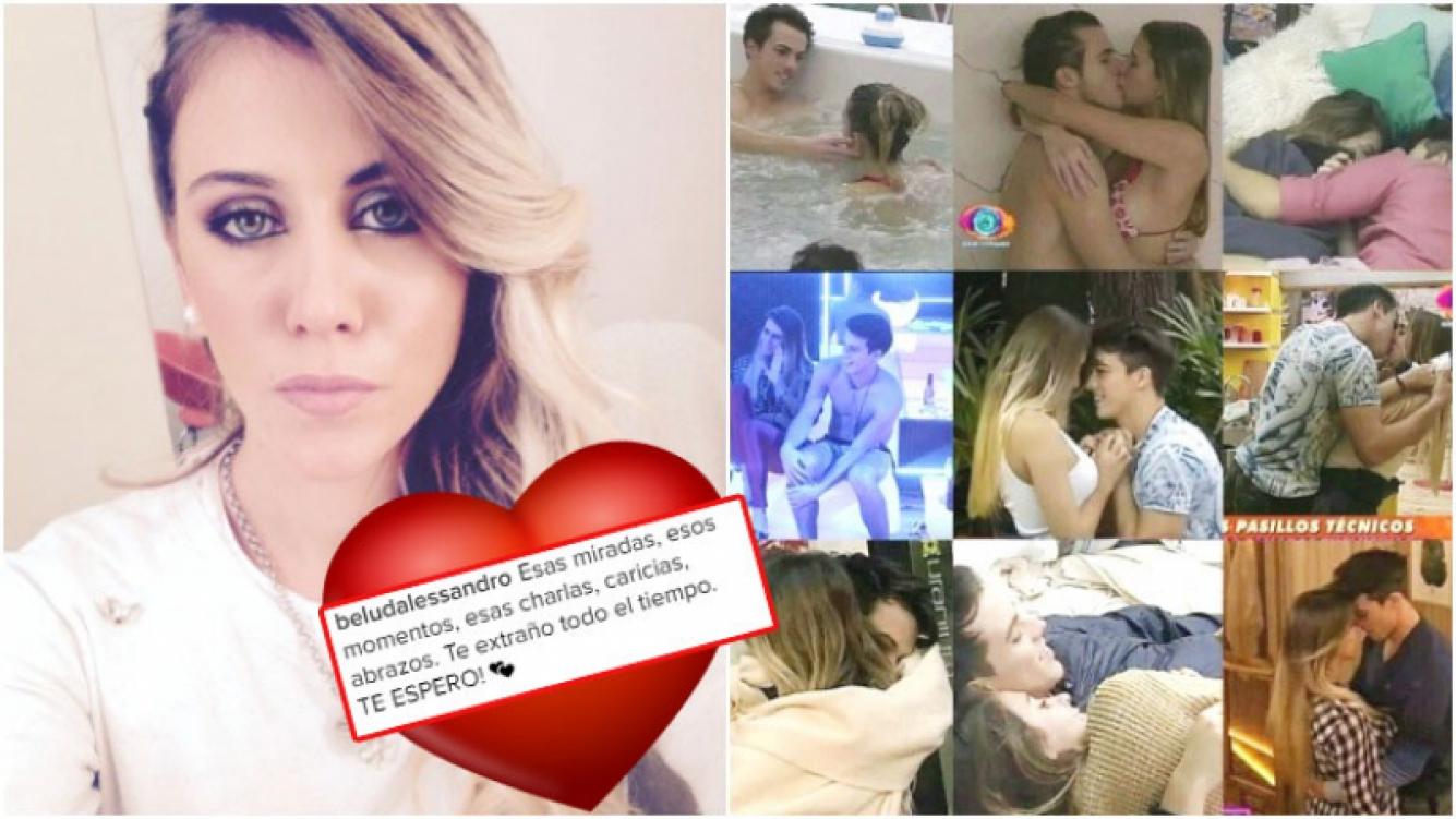 El mensaje de amor de Belén a Matías P. en Instagram (Fotos: Instagram)