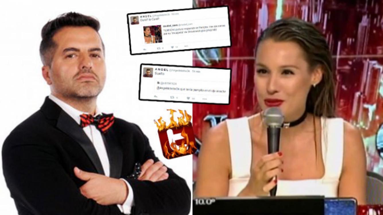 ¡Se armó la interna! Los filosos tweets de De Brito para Pampita tras su picante descargo en ShowMatch. (Foto: Web)