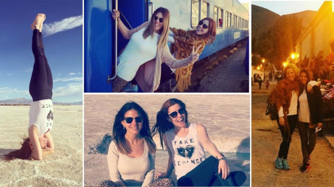 Agustina Kämpfer y su amiga Claudia Salto recorrieron el norte argentino. (Foto: Instagram)