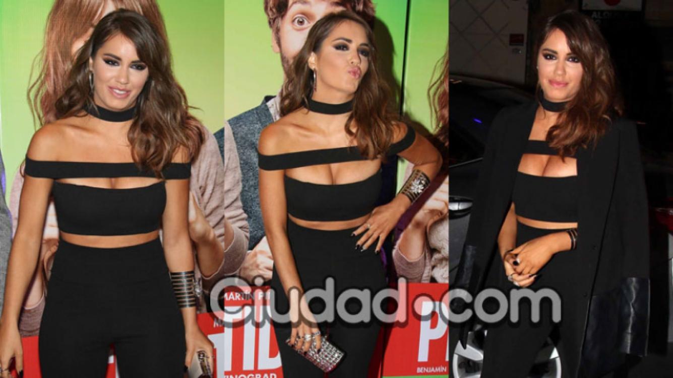 Lali Espósito, más sexy que nunca en el estreno de Permitidos (Fotos: Movilpress).