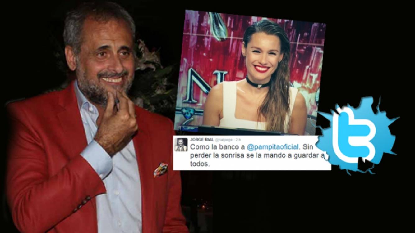 El tweet de Rial a Pampita tras su descargo en ShowMatch por su