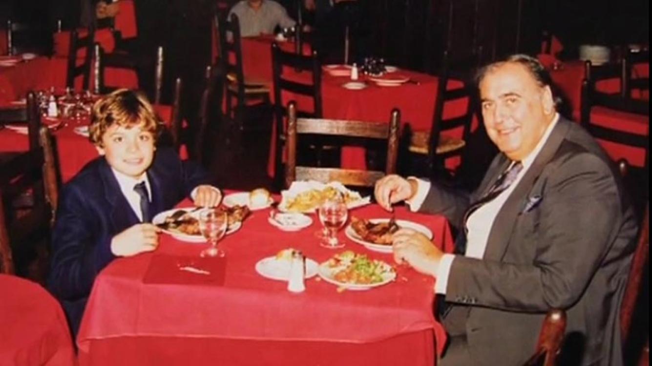 Ezequiel Mesa y Juan Carlos Mesa. (Foto: Web)