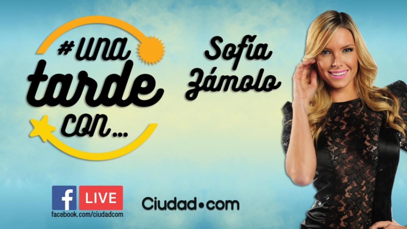 Sofía Zámolo, en vivo en #UnaTardeCon, por Facebook Live.