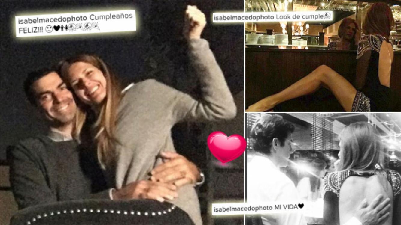 Las fotos del cumpleaños de Isabel Macedo: sensual look y mimos con Urtubey. (Foto: Instagram)