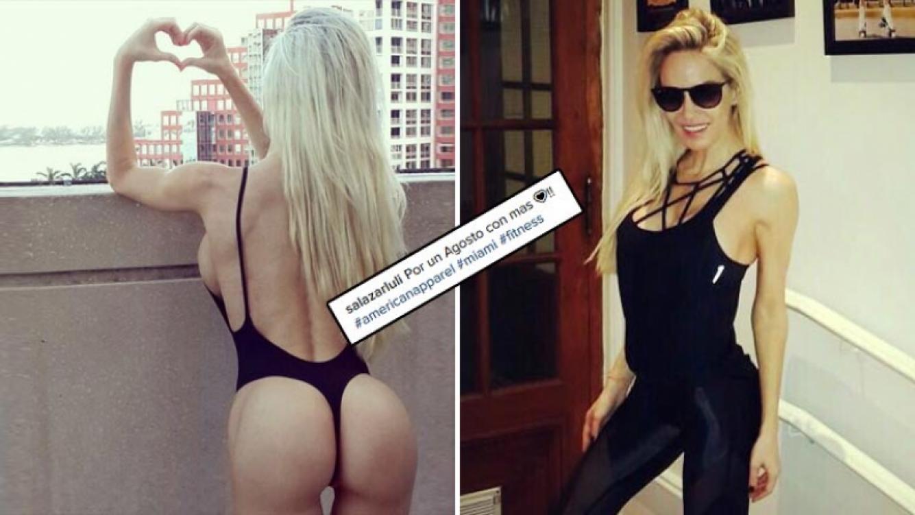 Luciana Salazar calentó Instagram con su foto súper hot. (Foto: Instagram)