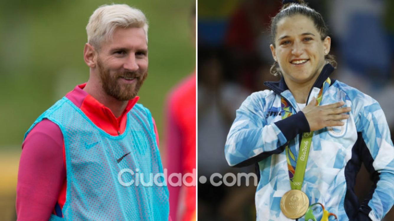 ¡Dos grandes! El mensaje de apoyo de Leo Messi a Paula Pareto. (Foto: AFP)