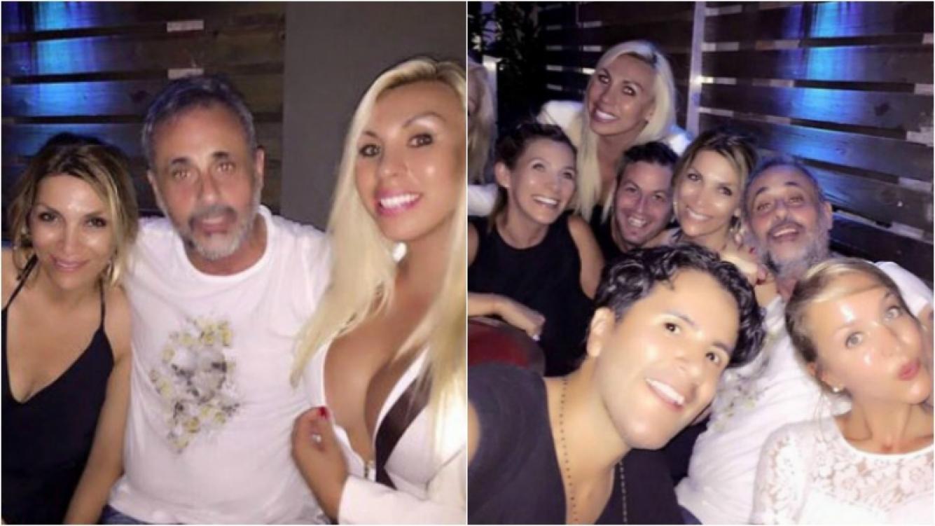 La noche de soltero de Rial en Miami. Foto: Instagram